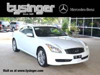 Moonlight White G37 X AWD, 1-Owner, Check out the Clean