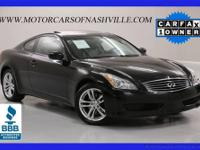 This 2009 Infiniti G37 Coupe 2dr 2dr x AWD Coupe