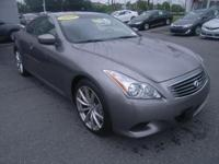2009 INFINITI 37S W / LEATHER-MADE SEATS SUNROOF LOW