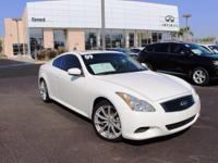 Options:  2009 Infiniti G37 Sport|White|6