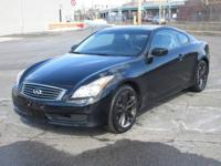 You are looking at a Black on Black 2009 Infiniti G37x.