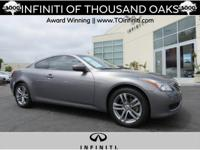 Options:  2009 Infiniti G37 Coupe 2Dr X Awd|Roof -
