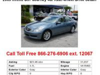 2009 Infiniti G37 Journey 2dr Rear-wheel Drive Coupe
