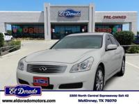 2009 Infiniti G37 Sedan 4dr Car Journey. Our Location