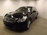 Clean CarFax. Only One Owner. Moonroof Package G37 X 4D