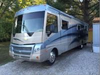 This Class A Motorhome Is Great For Snowbirds. It is
