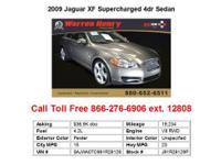 2009 Jaguar XF Supercharged 4dr Sedan Sedan 4 Doors