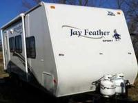 2009 Jayco Feather Sport. Considered to be fully self