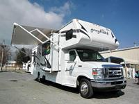 Make:	Jayco	Stock:	C-DB23454 Model:	Greyhawk 31GS