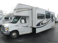Ford E450 w/ 6,000 Miles, Slideout, Air, Power Awning,