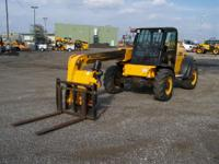 Powered by an 83 horsepower JCB Dieselmax engine with