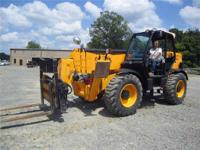 2009 JCB 0#.55'REACH TELEHANDLER 28k# Loaders