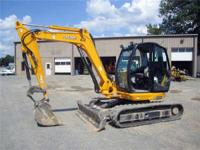 2009 JCB 8080 18k#EXCAVATOR CAB A/C 58HP Loaders Mini