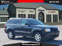 4WD. New Price! Black 2009 Jeep Grand Cherokee Laredo
