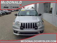 Options:  2009 Jeep Compass Limited 4X4|Miles: