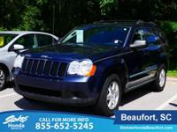 2009 Jeep Grand Cherokee in Blue. Gasoline! All the