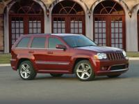 2009 Jeep Grand Cherokee SRT8 Red SRT HEMI 6.1L V8