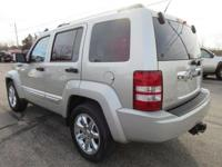 Options:  2009 Jeep Liberty Limited|Light Graystone