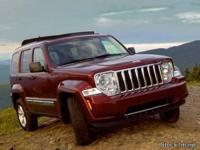 2009 Jeep Liberty Sport Clean CARFAX. 4WD, Vehicle