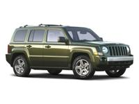 Come see this 2009 Jeep Patriot Limited. Its Variable