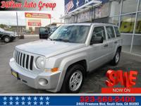 . Indulge yourself in our 2009 Jeep Patriot Sport in