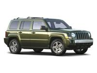 Come see this 2009 Jeep Patriot Sport. Its transmission