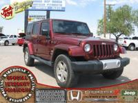 Wrangler Unlimited Sahara, 4D Sport Utility, 4WD, and
