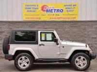 2009 Jeep Wrangler Sahara  in Bright Silver Metallic