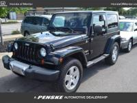 SOFT AND HARD TOPS, NEW TIRES, CARFAX 1-Owner. Sahara