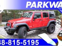 2009 Jeep Wrangler Unlimited Rubicon Red Rock Crystal
