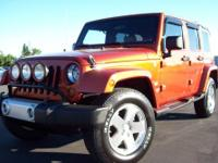 2009 Jeep Wrangler Sahara Unlimited 4WD 40K