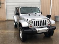 Recent Arrival!  2009 Jeep Wrangler Unlimited Sahara