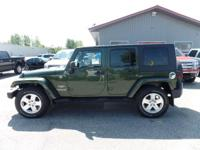 Our 2009 Jeep Wrangler Unlimited Sahara 4x4 delivers
