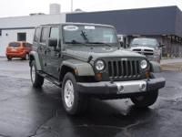 Options:  2009 Jeep Wrangler Unlimited Sahara|4X4