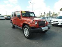 2009 Jeep Wrangler Unlimited Sahara with 4 Wheel Drive,