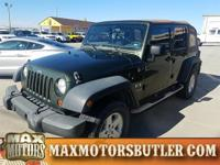Recent Arrival! 2009 Jeep Wrangler Unlimited X Green