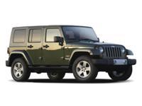Wrangler Unlimited X, 4D Sport Utility, 3.8L V6 SMPI,
