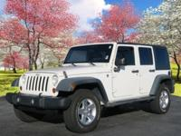 Recent Arrival! 4WD. 2009 Jeep Wrangler Unlimited X