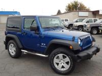 Options:  2009 Jeep Wrangler X|We Offer Financing For
