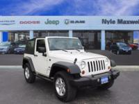 2009 JEEP WRANGLER X IN STONE WHITE CLEARCOAT!!  LOCAL