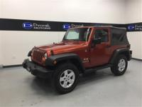 Local Trade! Lower miles! This Jeep is in great