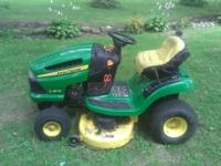 2009 John Deer Riding Mower. 19 1/2 Horse power with a