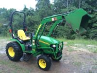 2009 John Deere 2720 Diesel compact utility tractor