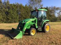 2009 John Deere 3720 cab tractor up for auction! I am