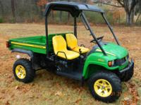 THIS IS A 2009 JOHN DEER GATOR XUV 850D DIESEL UTV.