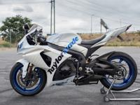 2009 Suzuki GSX-R 1000.This bike was used to develop