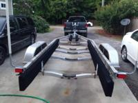 2009 Karavan tandem axle boat trailer for sale. Heavy