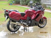 2009 Red Kaw C14 - NON ABS Model Warranty until Feb