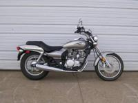 2009 Kawasaki Eliminator 125 is in great shape with