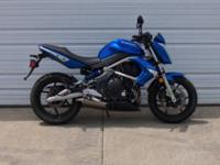 2009 Kawasaki ER-6N is very sharp with 14,400 miles.